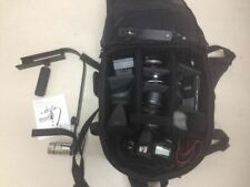 Canon EOS 60D DSLR + Sigma 18-250 lens mic, ligth and bag