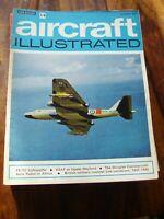 JOB LOT X 10 VINTAGE 1971  AIRCRAFT ILLUSTRATED AVIATION  MAGAZINES