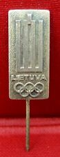 OLD OLYMPIC PIN  LIETUVA  NOC LITHUANIA RARE