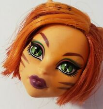 MONSTER HIGH DOLL FEARLEADING TORALEI STRIPE HEAD ONLY FOR REPLACEMENT OR OOAK