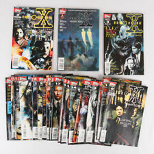 X-Files Comic Lot of 28, Topps, #0-3, 11-27, 29, 30, 35, 36 and 3 Specials, VF