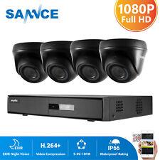 SANNCE 8CH 1080P Lite DVR 3000TVL Outdoor CCTV Camera Home Surveillance System