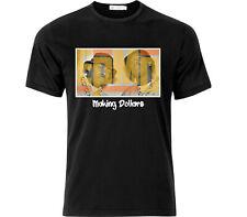 EPMD haciendo dólares vieja escuela hip hop camiseta Negro