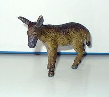 FIGURINE ANIMAL ANE DONKEY CAMPAGNE NATURE  (7x10cm)