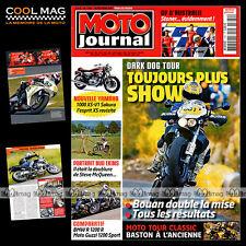 MOTO JOURNAL N°1780 HONDA CBR 1000 GSXR SUZUKI BMW R 1200 R GUZZI MOTO TOUR 2007
