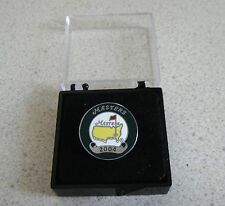 U.S. Masters 2004 Won By Phil Mickelson Stemmed Or Flat Golf Ball Marker & Case