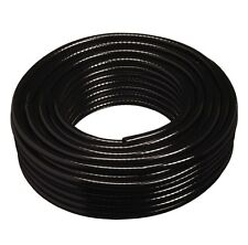 Black PVC Reinforced Braided Hosepipe - Hose Pipe Tubing Food / Water / Oil Safe
