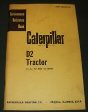 CAT CATERPILLAR D2 TRACTOR DOZER SERVICE REPAIR MANUAL OEM S/N 3J 5J 4U 5U