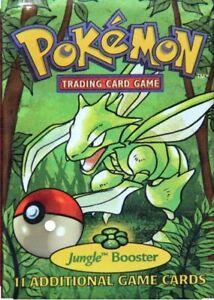Original Pokemon Cards Rare - 1999 Jungle Set WOTC Vintage Packs