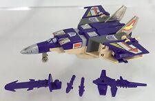 Vintage Transformers G1 Blitzwing Near Complete Original 1984 Triple Changer