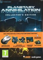 Planetary Annihilation Collection (an Interplanetary RTS PC Game) + Gaming mouse