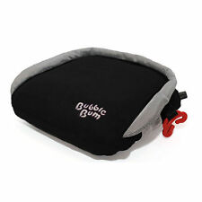 BubbleBum Black Inflatable Car Travel Child Booster Portable Seat
