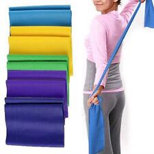 Yoga Exercise Tension Band Belt Crossfit  Latex Stretch Elastic Training Fitness