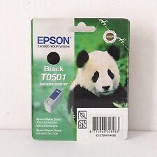 CARTUCCIA EPSON T0501 BLACK T0501 NERO 400 440 460 500 600 640 EX 700 750 1200