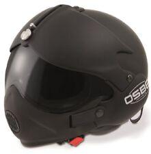 Open Face Scooter Helmet Osbe GPA Aircraft Tornado Matt Black L 59-60 Cm Mask