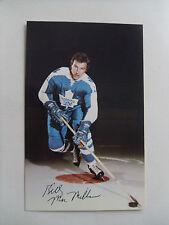 1971-72-TORONTO MAPLE LEAFS-#12-Billy MacMillan- POSTCARD,