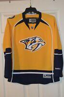 REEBOK NHL HOCKEY NASHVILLE PREDATORS WOMENS HOME BREAKAWAY JERSEY LARGE!