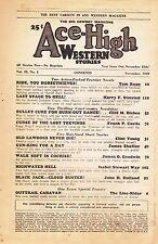Ace High Western Nov 1949 Pulp Harry F. Olmsted James Shaffer Frank P. Castle
