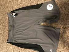 Brand New Pittsburgh Steelers Majestic Athletic Shorts
