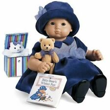 American Girl Bitty Baby Pleasant Company 1999 Purple Velveteen Displayed Only