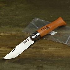 Opinel No. 9 Carbon Steel Beechwood Handle Folding Knife 113090