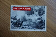 Vintage 1965 P.C.G.C. US Army Corps Trading Card War Bulletin #65