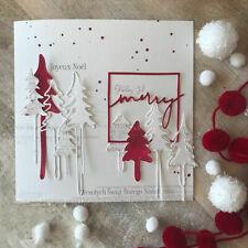 Christmas Tree Metal Cutting Dies Stencil DIY Paper Card Scrapbooking Embossing