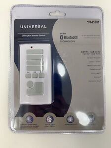 Harbor Breeze Universal Ceiling Fan Remote with Bluetooth Tech 0745361