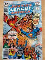 Justice League Of America #137 1976 - DC  5.5-6.0  Comic Book SHAZAM!!! SUPERMAN