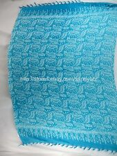 turquoise sarong boho leaf designs cheap accessories jewelry online