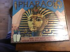 Pharaoh Educational Set. Stickers Mask, Mummy Poster, Book. Unused Condition.