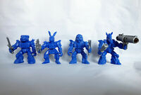 Bulldog, Hare, Horse, Lion Cyborgs, 4 Russian Battle Beasts, Plastic, 45mm, New
