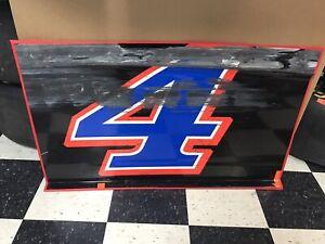 2020 Kevin Harvick #4 Mobil 1 Nascar Race Used SheetMetal Door Panel