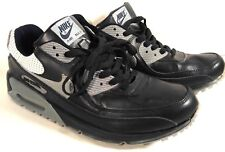 3aab6363e352 NIKE AIR MAX ATHLETIC SHOES MEN  S SIZE 12 BLACK GRAY WHITE LACE UP