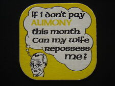 IF I DON'T PAY ALIMONY THIS MONTH CAN MY WIFE REPOSSESS ME? COASTER