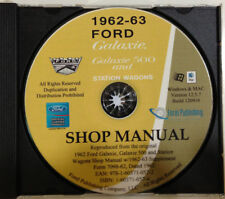 1962-63 Ford Galaxie and Mecury Monterey Shop Manual