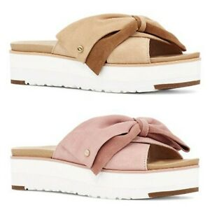 NEW $130 UGG Joanie Women's Suede Slide Sandals SELECT SIZE & COLOR