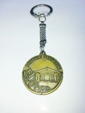 Key chin Abashiri Bangaidai Japan movie story vintage memorial coin brass rare