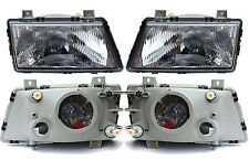 SAAB 900 1986-93 EUROPEAN E-CODE HEADLIGHT LAMP SET of 2 9120148 9120130