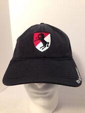 Black Horse Regiment Armored Calvary Black Unstructured Dad Hat Cap