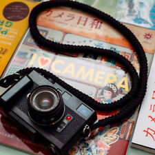 a-mode Handmade Camera Straps Paracord Nylon Rope Camera neck Strap black