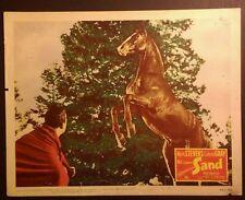 Rare 1949 Lobby Card - Sand - Equestrian, Horse, 11x14, Mark Stevens