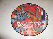 """DISTORTED MINDS - T-10 / The Tenth Planet - 2003 UK 2-track 12"""" PICTURE DISC"""