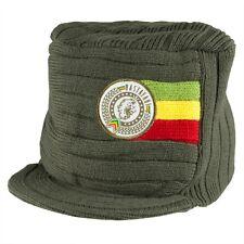 Bob Marley - Rastafari Beanie with Brim