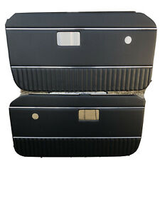 MG Mgb Door Cards  New , 1972- 1976 With Chrome Strip Door Cards