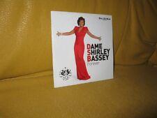 Dame Shirley Bassey Forever. 14 tracks - goldfinger, diamonds, big spender