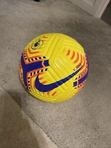Nike Flight Premier Leage Winter Matchball Football Match Used Sz 5 Rrp £140