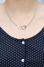 brandy melville silver handcuff fashion necklace NWT