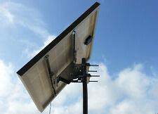 Supporto fissaggio TESTAPALO moduli fotovoltaici PANNELLO SOLARE 50W 100W palo 6