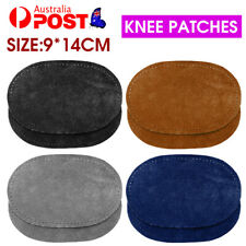 2X Suede Leather Sew Elbow Knee Patches DIY Sewing Applique Home Supplies